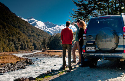 Glenorchy 4WD Scenic tour