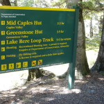 Greenstone Track sign